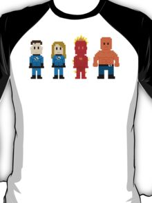 Super Heroes 5 - The Fantastics T-Shirt
