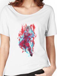 Goku Super Saiyan Blue Kaioken Women's Relaxed Fit T-Shirt