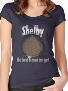 Peaky Blinders Razor - The Best a Man Can Get! Women's Fitted Scoop T-Shirt