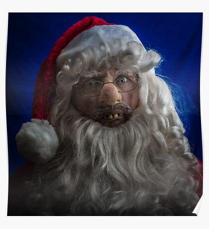 Redneck Santa Poster