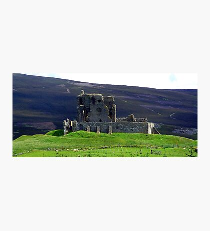 Auchindoun Castle Photographic Print