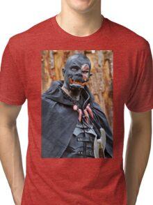 Monsters against Hobbits 1 FZ 1000 by Olao Olavia  par okaio créations c (h) Tri-blend T-Shirt
