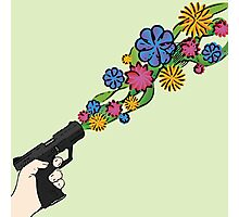 Floral Weaponry Photographic Print