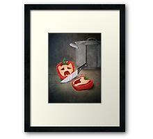 Vintage Paprika Kill Framed Print