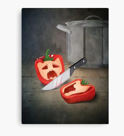 Vintage Paprika Kill Canvas Print