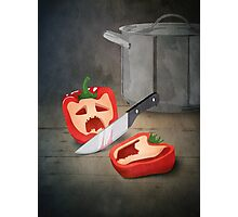 Vintage Paprika Kill Photographic Print