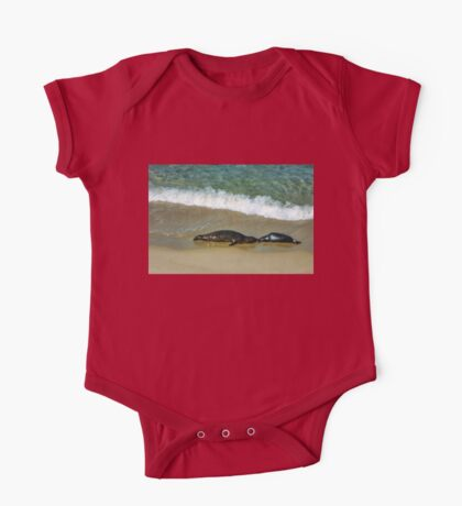 Mother and Child Kiss One Piece - Short Sleeve