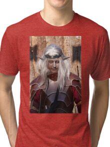 Monsters against Hobbits 2 FZ 1000 by Olao Olavia  c (h) Tri-blend T-Shirt