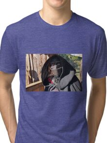 Monsters against Hobbits 3 FZ 1000 by Olao Olavia  c (t) Tri-blend T-Shirt