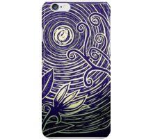 Moonflower Blue iPhone Case/Skin