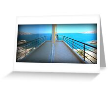 Mirror Image - Travel Photography Greeting Card