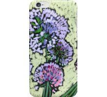 Onion flowers bouquet  iPhone Case/Skin