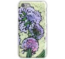 Onion flowers bouquet  iPhone Case/Skin