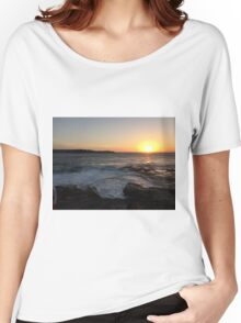 Sunset at La Perouse, Sydney, NSW, Australia Women's Relaxed Fit T-Shirt