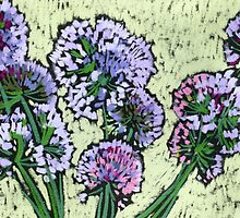 Onion flowers bouquet  by kira-culufin