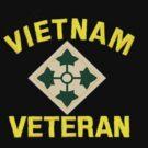 4th Infantry Vietnam Veteran by Walter Colvin