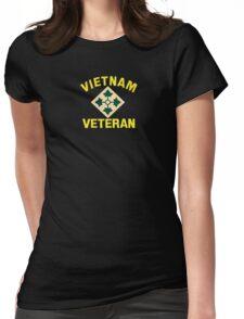 4th Infantry Vietnam Veteran Womens Fitted T-Shirt