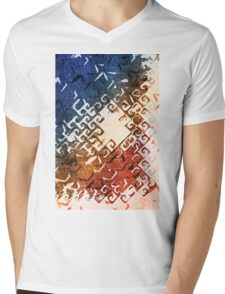 Imperfect Invulnerability Mens V-Neck T-Shirt