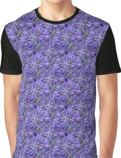 Natural Blooming Flowers - Lavender Agapanthus Graphic T-Shirt