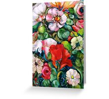 Jody's Fragrant Garden Greeting Card
