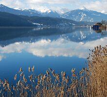 Lake Millstatt between fall and winter by Arie Koene