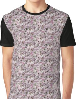 Natural Blooming Flowers - Pink and Purple Azaelas Graphic T-Shirt