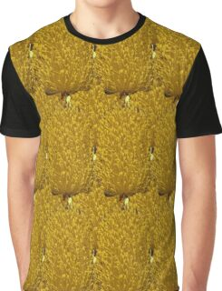 Natural Blooming Flowers - Yellow Banksias Graphic T-Shirt