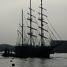 Tall ship  by Sparowsong