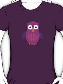 Purple & Purple Owl T-Shirt