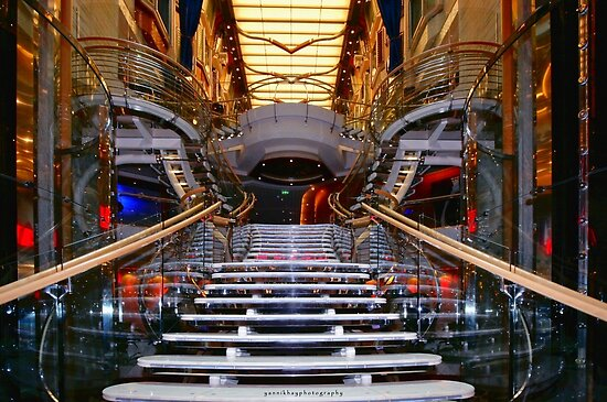 Central Staircase by Yannik Hay