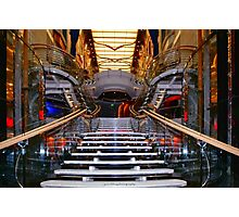 Central Staircase Photographic Print