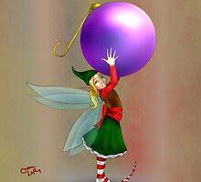 Purple Ornament Fae by ChePanArt
