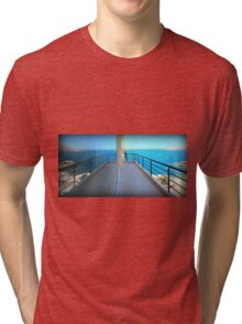 Mirror Image - Travel Photography Tri-blend T-Shirt
