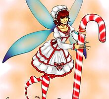 Candy Cane Fae by ChePanArt