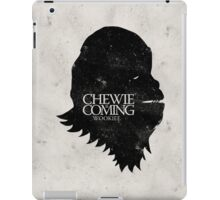 Chewie is Coming iPad Case/Skin