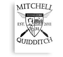 Mitchell Quidditch Design 2 Metal Print