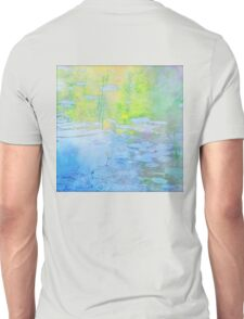 Impression of Seacourt Stream with Spatterdock Unisex T-Shirt
