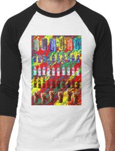 Coke Life, Happy Life Men's Baseball ¾ T-Shirt