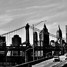 The Manhattan Bridge shot from FDR Drive by ShellyKay