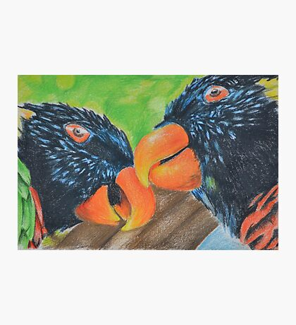 Chatter of the Birds Photographic Print
