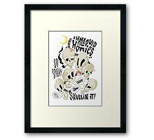 Hallowed Homies Framed Print