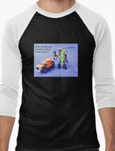 Even droids are sensitive about body odour! Men's Baseball ¾ T-Shirt