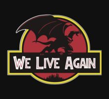 We Live Again - Gargoyles Jurassic Park by sugarpoultry