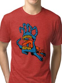 Monster Mouth Claw Tri-blend T-Shirt