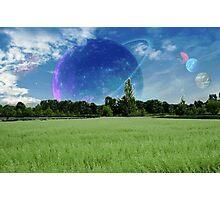 Tim's Planet Photographic Print