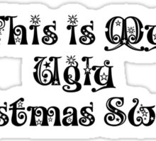 Ugly Christmas Sweater Sticker
