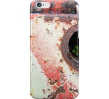 green rest iPhone Case/Skin