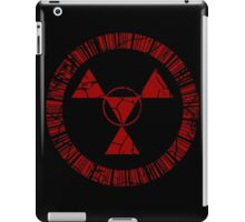 Digital Hazard Symbol iPad Case/Skin