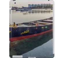 boat no. 10 iPad Case/Skin