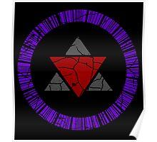 Zero Unit Symbol Poster